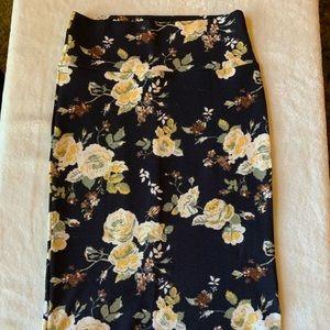 XS LuLaRoe Cassie Pencil Skirt